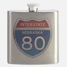 Interstate 80 - Nebraska Flask