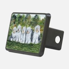 old english sheepdog Hitch Cover
