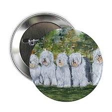 "old english sheepdog 2.25"" Button"