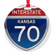 Interstate 70 - Kansas Ornament