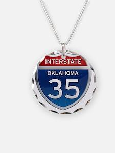 Interstate 35 - Oklahoma Necklace