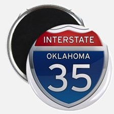 Interstate 35 - Oklahoma Magnet
