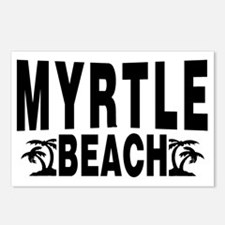 beach_myrtle Postcards (Package of 8)