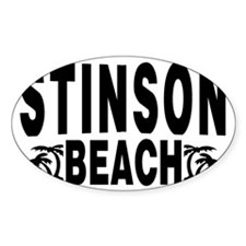 beach_stinson Decal