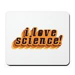 Love Science Retro Mousepad