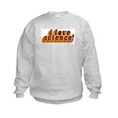 Love Science Retro Sweatshirt