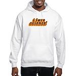 Love Science Retro Hooded Sweatshirt