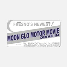 moonglo Aluminum License Plate