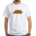 Love Science Retro White T-Shirt