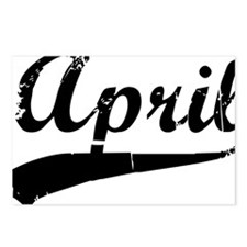 april Postcards (Package of 8)
