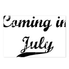 coming in july Postcards (Package of 8)