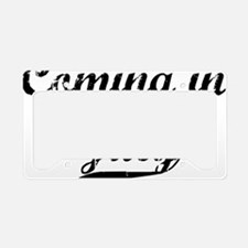 coming in july License Plate Holder