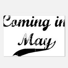 coming in may Postcards (Package of 8)