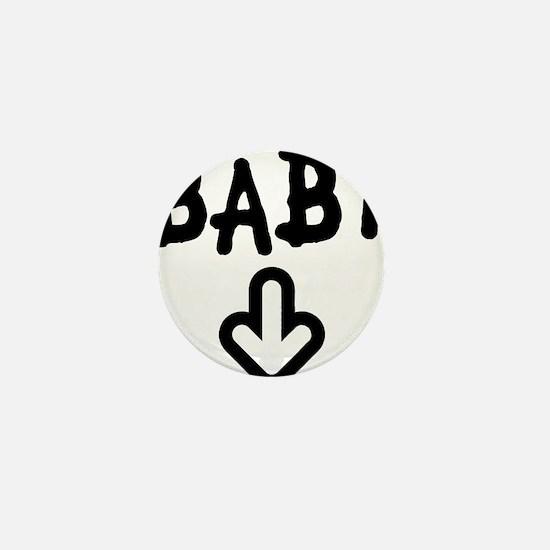 baby arrow Mini Button