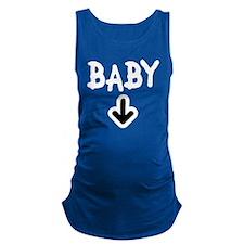 baby arrow 2 Maternity Tank Top