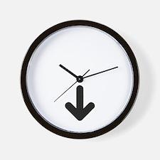 baby arrow 2 Wall Clock