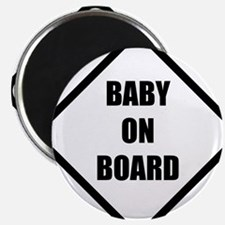 baby on board 5 Magnet