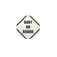 baby on board 5 Mini Button