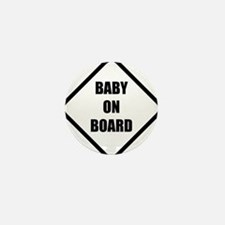 baby on board 5 Mini Button