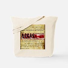 whywedidit2 Tote Bag