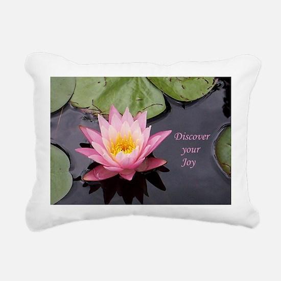 discover your joy Rectangular Canvas Pillow