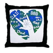 dad_sign_3 Throw Pillow