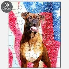 Patriotic boxer Puzzle