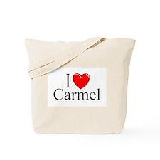 """""""I Love Carmel"""" Tote Bag"""
