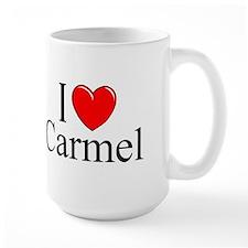 """""""I Love Carmel"""" Coffee Mug"""