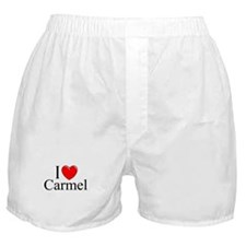 """""""I Love Carmel"""" Boxer Shorts"""