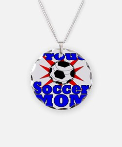 proud soccer mom Necklace