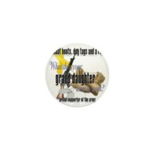 CDR granddaughter ARMY Mini Button