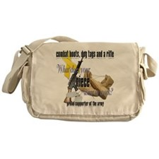 CDR niece ARMY Messenger Bag