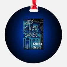 Wild Ghost Chase button mag Ornament
