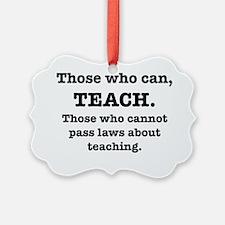teaching Ornament