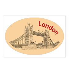 London_4.58x2.91_tmug_Tow Postcards (Package of 8)