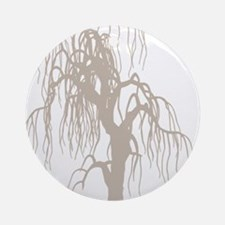 weepingwillowtree3 Round Ornament