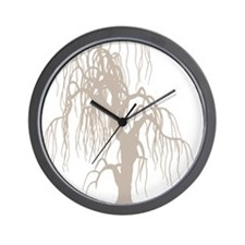 weepingwillowtree3 Wall Clock