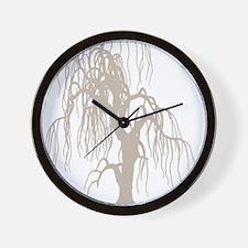 weepingwillowtree3 Wall Clock