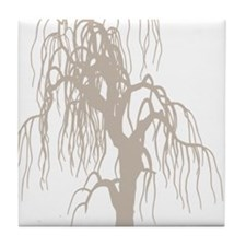 weepingwillowtree3 Tile Coaster