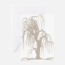 weepingwillowtree3 Greeting Card