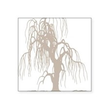 "weepingwillowtree3 Square Sticker 3"" x 3"""