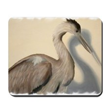 Crane with frame Mousepad