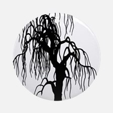weepingwillowtree1 Round Ornament