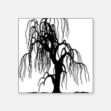 "weepingwillowtree1 Square Sticker 3"" x 3"""