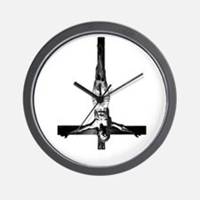 black-metal-elitist-BIG Wall Clock