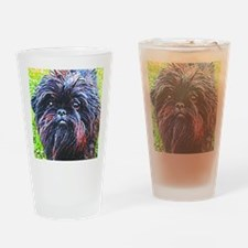 Affenpinscher Drinking Glass