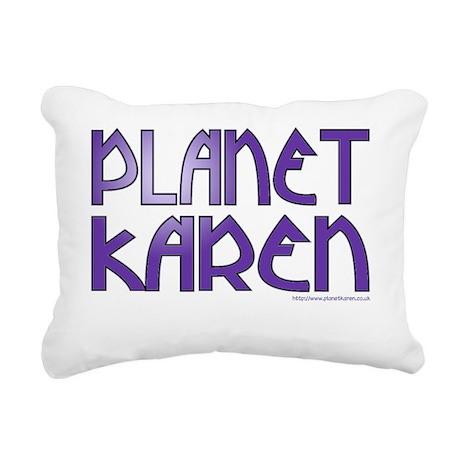 PK logo 10x10_apparel wh Rectangular Canvas Pillow