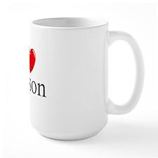 """""""I Love Carson"""" Mug"""