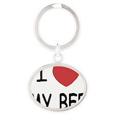 MY_BFF Oval Keychain